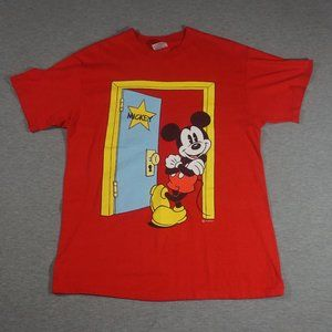 Hanes Shirts - 90's Vintage Mickey Mouse T Shirt